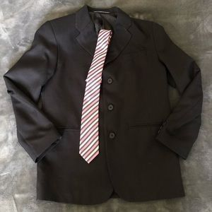 Dockers sports coat (black) with tie *new